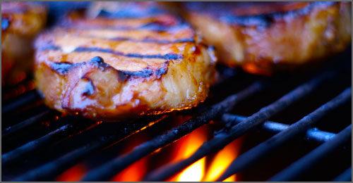 Catering Menus Barbecue at Ambrosia Centre on Fisgard
