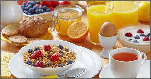 Catering Menus Breakfast at Ambrosia Centre on Fisgard